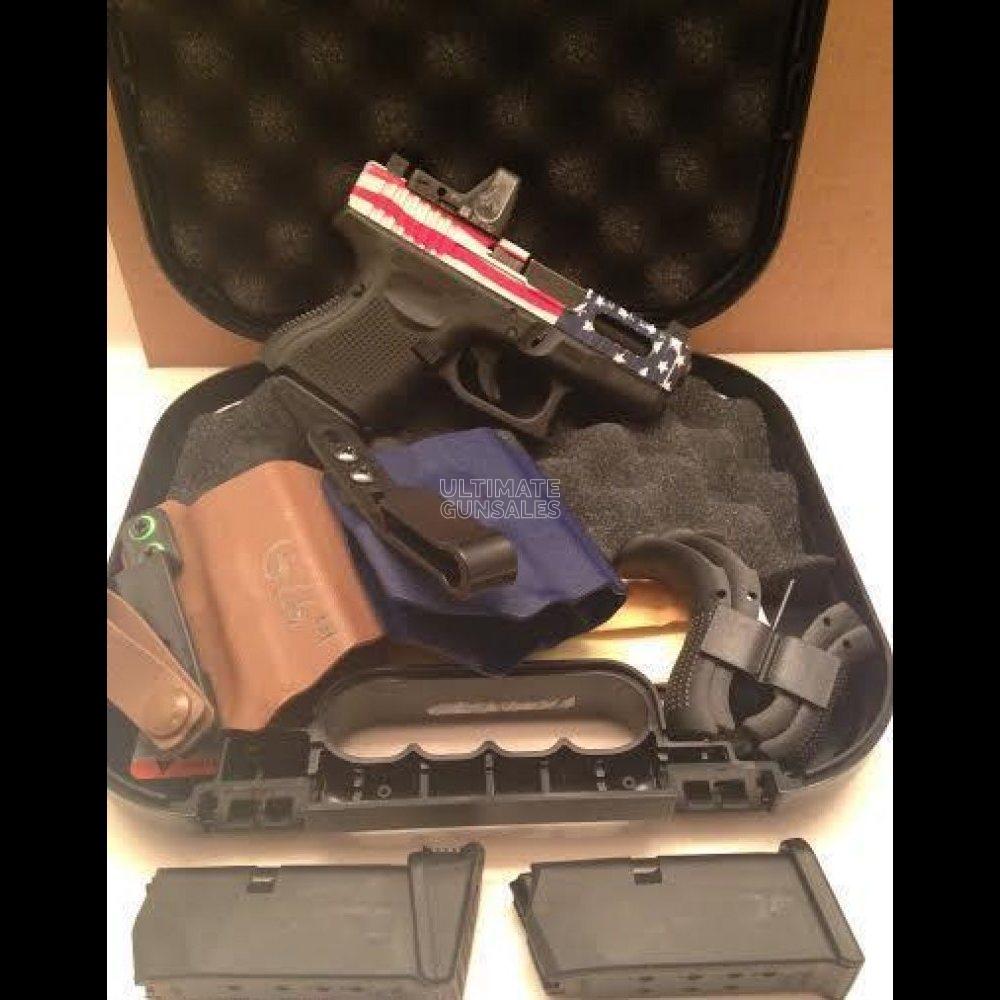 Glock 26 RMR American flag | guns for sale
